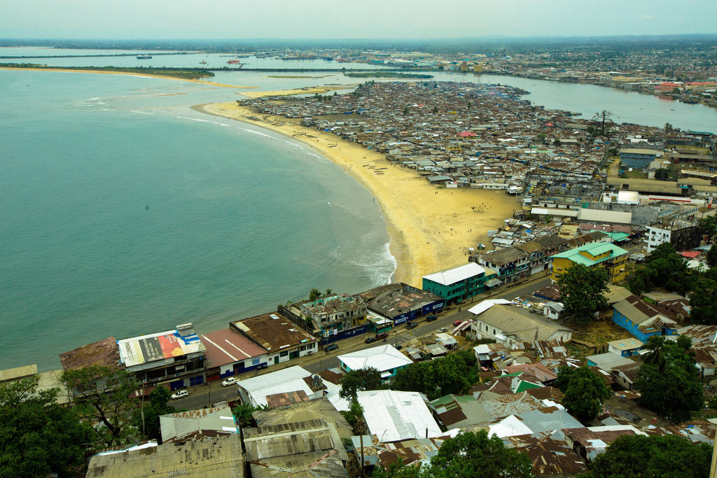 West Point is an impoverished neighborhood in Liberia's capital Monrovia. Photo courtesy of More Than Me