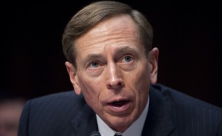 "UNITED STATES – JANUARY 31: CIA Director David Petraeus testifies during the Senate (Select) Intelligence Committee hearing on ""World Wide Threats"" on Tuesday, Jan. 31, 2012. (Photo By Bill Clark/CQ Roll Call)"