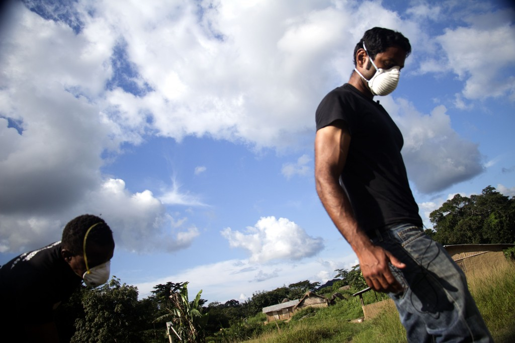 Dr. Pranav Shetty is the global emergency health coordinator for International Medical Corps, a partner in the U.S.-backed effort to control the Ebola outbreak in West Africa. Photo by International Medical Corps