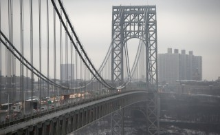 A new bill in the House would not raise money available to rehabilitate or maintain highways, rail systems, or bridges, such as the George Washington Bridge pictured above.