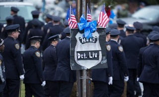 Wake Held For Second NY Police Officer Assassinated By Gunman