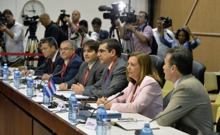 CUBA-US-DIPLOMACY-HISTORIC-TALKS