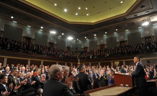 President Obama Delivers State Of The Union Address