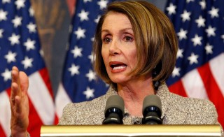 Speaker Pelosi And House Democratic Leaders Discuss Health Insurance Reform