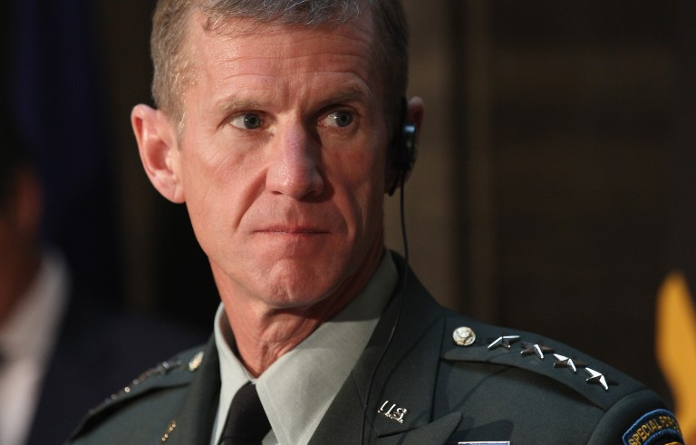 In September 2003, Gen. Stanley A. McChrystal was appointed commanding general of the Joint Special Operations Command.  Andreas Rentz/Getty Images