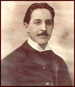 Dr. Emil H. Grubbe at age 21.