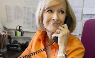 PBS NewsHour co-anchor Judy Woodruff will chat with journalism students
