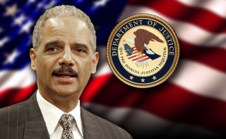 MAJOR SHIFT holder justice department seal