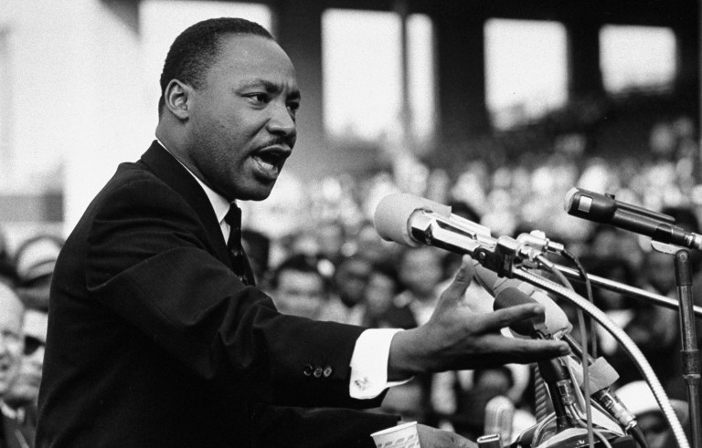 Rev. Dr. Martin Luther King Jr. speaking. Mychal  Denzel Smith argues that Millennials misunderstand a key part of Martin Luther King's message. Photo by Julian Wasser//Time Life Pictures/Getty Images