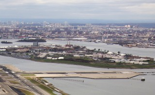 "Rikers Island is seen in this aerial photograph taken in New York on October 31, 2012. The New York City Department of Correction has routinely violated the constitutional rights of male teenagers at the Rikers Island jail complex through a ""culture of violence"" that relies on beatings, the federal government said in a report released on August 4, 2014. The U.S. Justice Department said the multiyear probe had found a pattern of ""conduct and practice"" pervading the sprawling Rikers detention facility that violates the rights of young inmates. REUTERS/Adrees Latif"