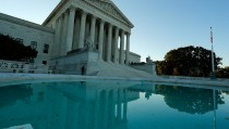 A general view of the U.S. Supreme Court building is seen in Washington