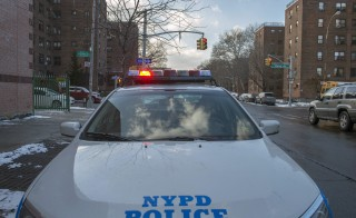A review of tactics used by NYPD officers found 10 instances where prohibited chokeholds were used on citizens, without disciplinary action. Photo by Stephanie Keith/Reuters