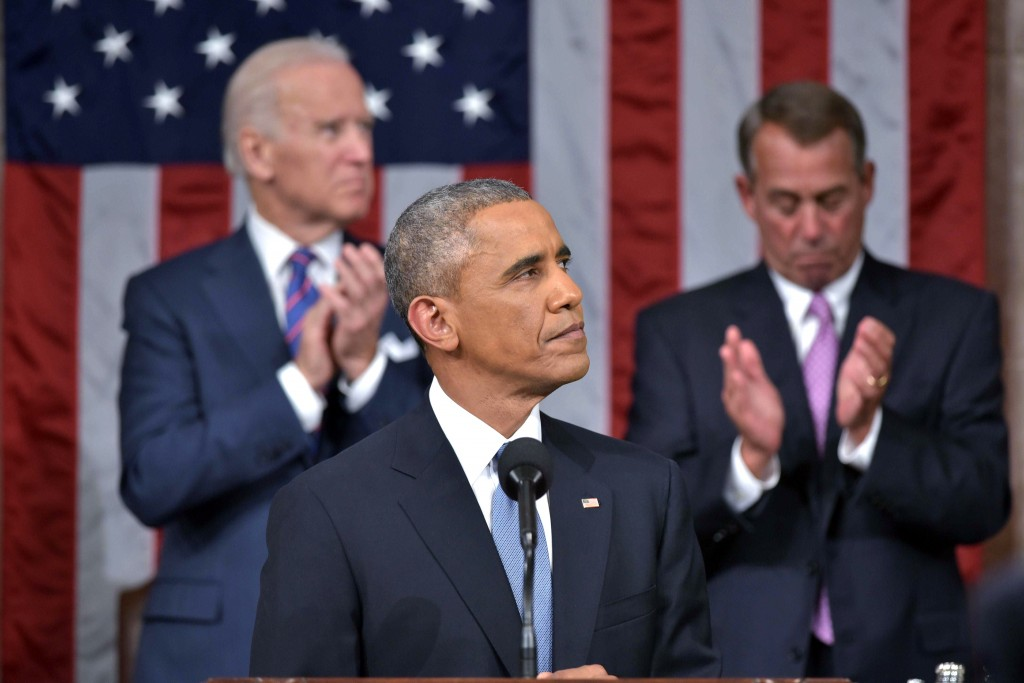 President Barack Obama laid out his plan for free community college in his State of the Union address.  Photo by Mandel Ngan/Reuters