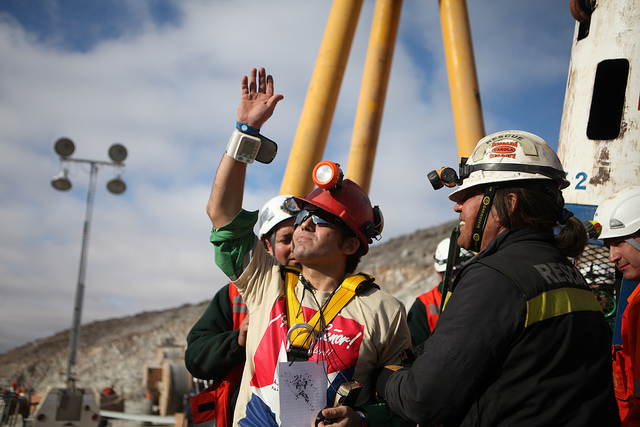 rescued miner, Chile