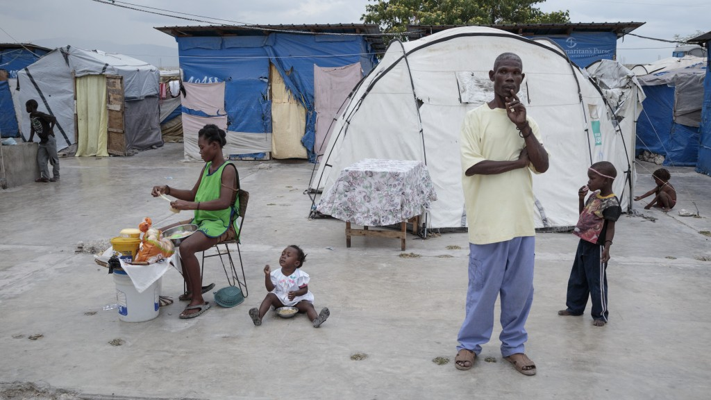 Article: Photo-Essay: Haiti After the Earthquake, Part 3: Camp Corail ...