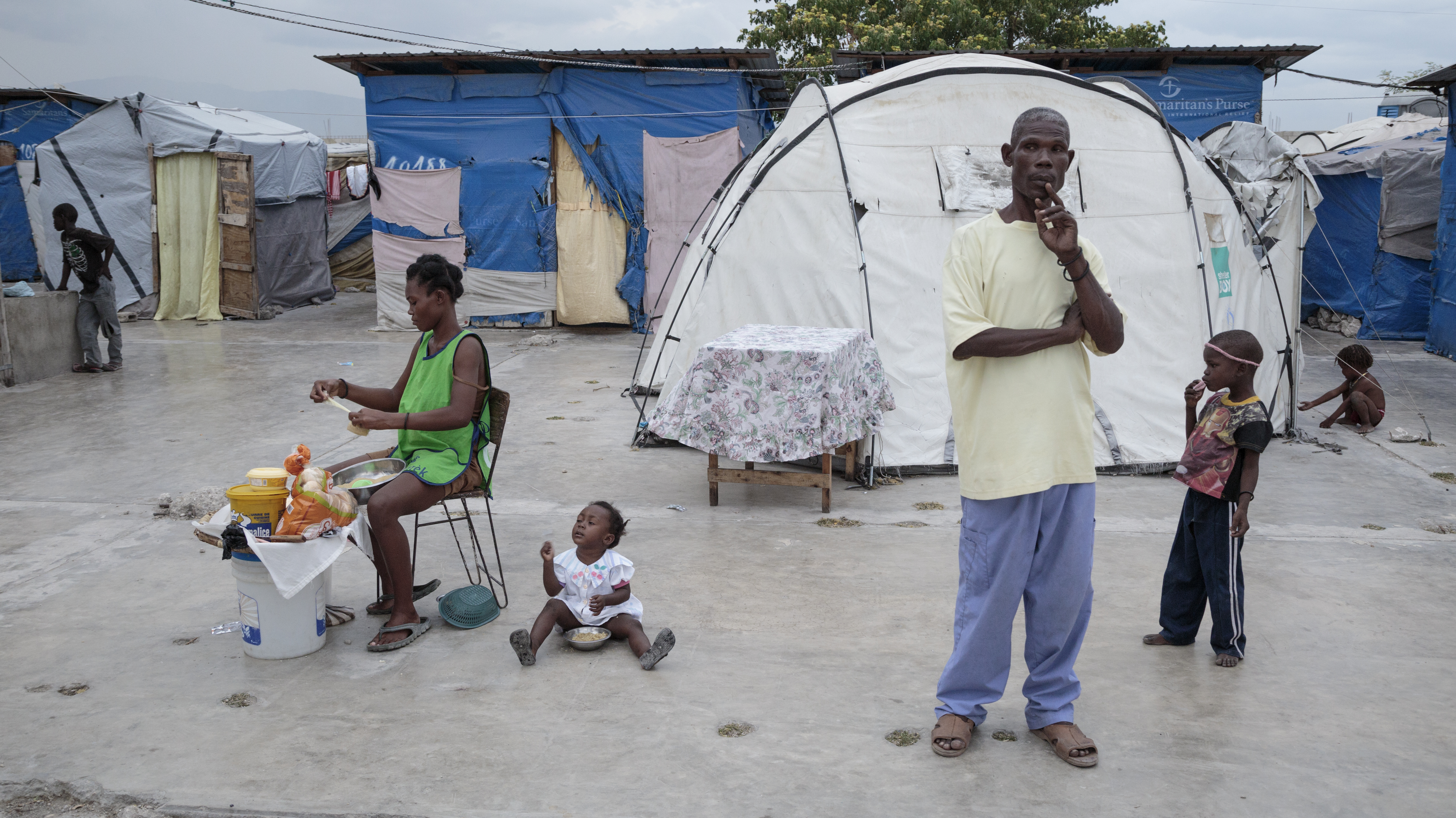 Social and living conditions in Haitian slums like Cité Soleil are a ...