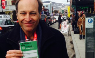 Chief arts correspondent Jeffrey Brown returns to Sundance to report on several stories for the NewsHour on the state of independent filmmaking. Photo by Mary Jo Brooks/PBS NewsHour