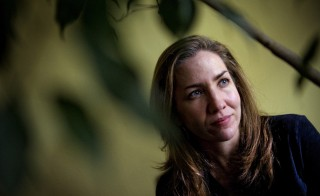 """Laura Hillenbrand, whose latest book """"Unbroken"""" has just come out, in her home, November, 23, 2010 in Washington, DC. Photo by Bill O'Leary/The Washington Post via Getty Images"""