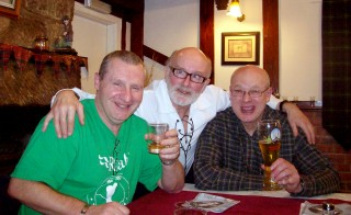 The lads enjoy a few pints at the pub.  Photo by Flickr user summonedbyfells