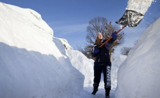 Massachusetts Buried By Yet Another Blizzard