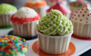 Photo of cupcakes by Doug Schneider Photography via Getty Images