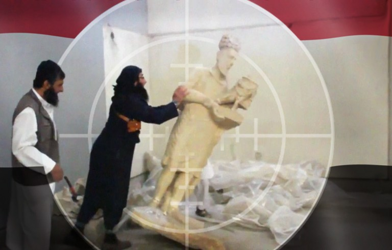 Casualties of War Antiquities iraq  ISIS islamic  state monitor