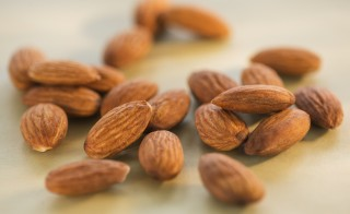 Almonds are shown. Photo by Getty Images.