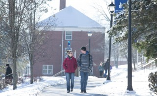Hartwick College in Oneonta, New York has just 1,500 students but President Margaret Drugovich estimates the schools spends $297,800  and 7,200 staff work hours to comply with what critics call onerous government regulation and reporting requirements. Photo: Hartwick College