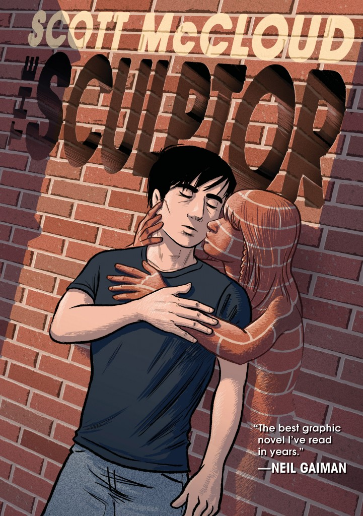 "Comics artist Scott McCloud released ""The Sculptor,"" his first work of fiction in over 30 years."