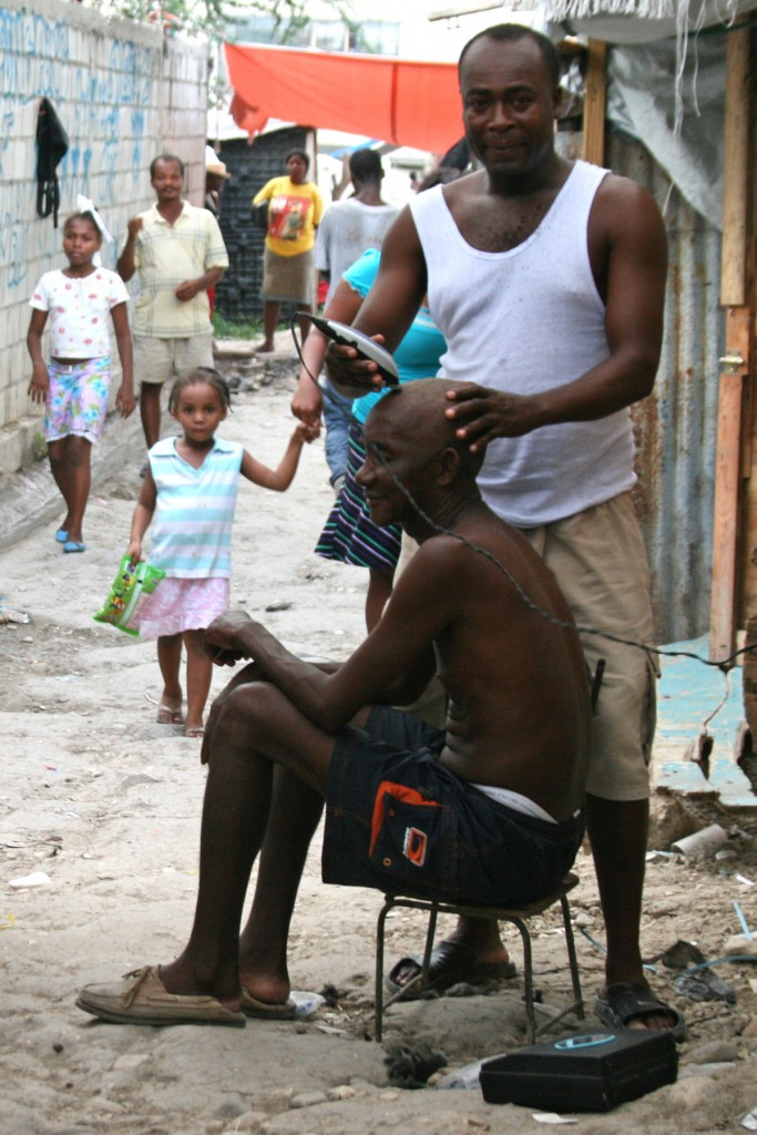 Back to business In camps across Port-au-Prince, people have found ways to make a living by adapting to their new surroundings.