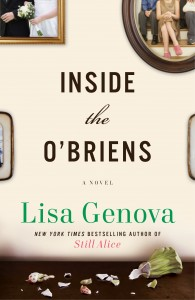 "The cover art for Lisa Genova's fourth book, ""Inside the O'Briens."" The book, which comes out in April, tells the story of a family dealing with Huntington's disease."