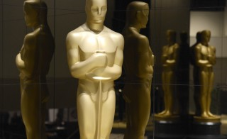 An Oscar statue is seen at the nominations announcement for the 87th Academy Awards in Beverly Hills, California on Jan. 15, 2015. Photo by Phil McCarten/Reuters