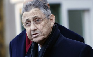 New York Assembly Speaker Sheldon Silver stops to speak at microphones as he leaves the U.S. Federal Court in the Manhattan borough of New York City January 22, 2015. Silver, 70, one of the state's most powerful Democrats for more than two decades, was charged with fraud, conspiracy to commit fraud and other criminal counts after a lengthy corruption investigation federal authorities said. Photo by REUTERS/Shannon Stapleton