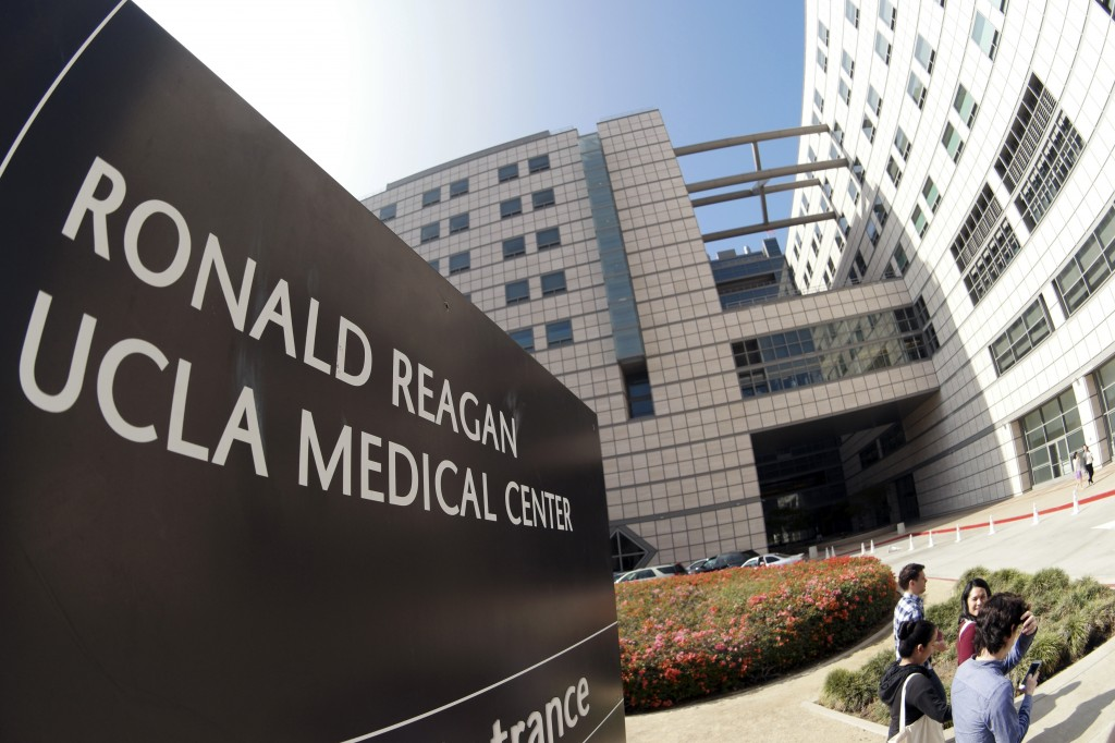 "UCLA Medical Center in Los Angeles has told scores of patients they were possibly exposed to a drug-resistant bacterial ""superbug"" during endoscopy procedures that infected seven patients and may have contributed to two deaths. Photo by Jonathan Alcorn/Reuters"