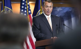 Conservative Republicans have urged House Speaker John Boehner not to capitulate in a fight with Democrats over President Barack Obama's immigration policy that threatens a partial Homeland Security shutdown. Photo by Joshua Roberts/Reuters