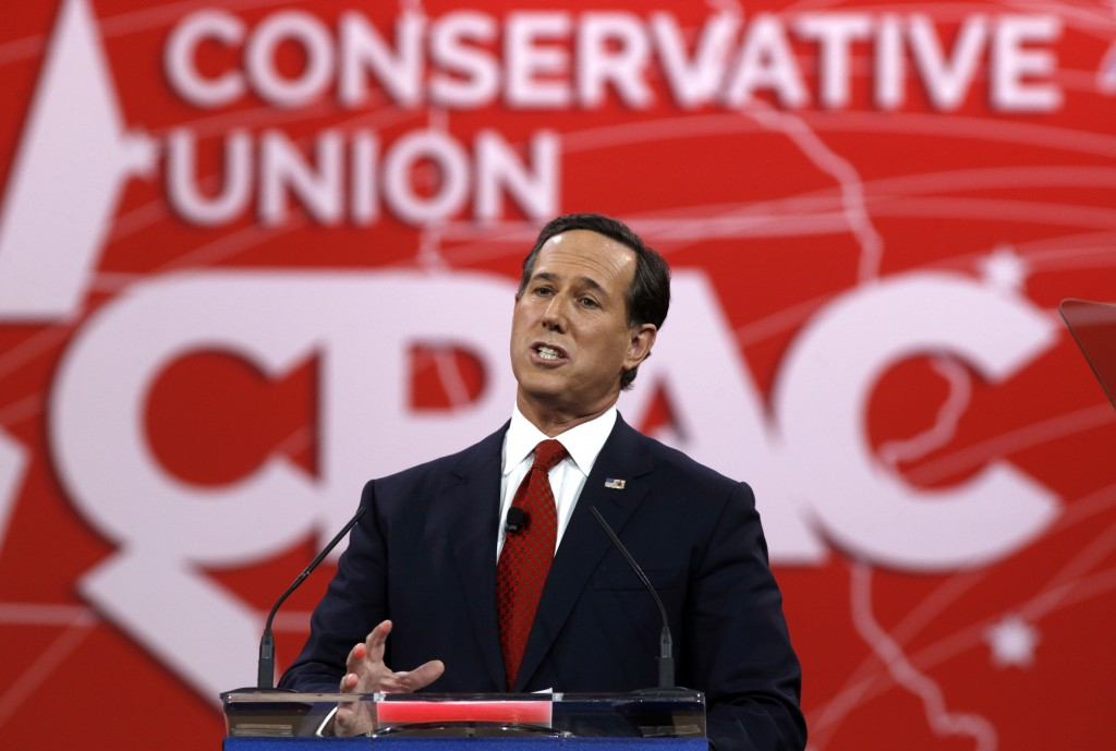 Former Pennsylvania Senator Rick Santorum is expected to announce his run for the White House Wednesday.