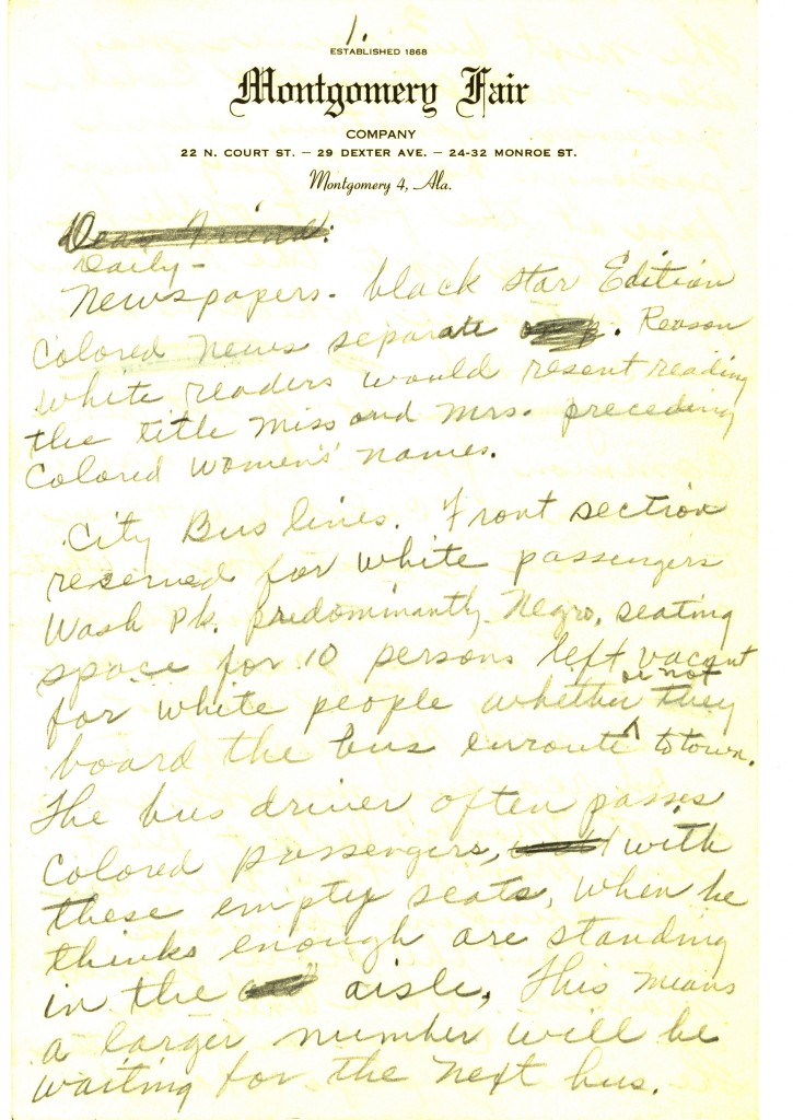 rosa parks letters and photographs reveal a lifelong warrior for  draft letter written by parks in 1956 describing racial segregation in montgomery alabama