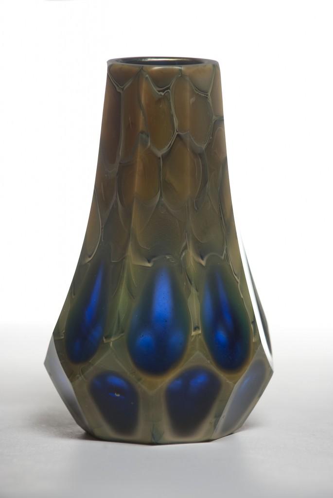 """""""Agate"""" vase."""