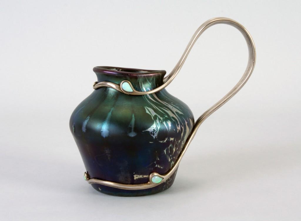 Mounted vase.