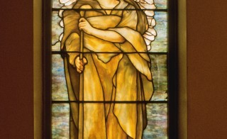 """Angel of Resurrection"" window."