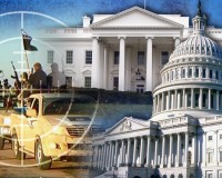 WAR POWERS monitor white house capitol dome ISIS