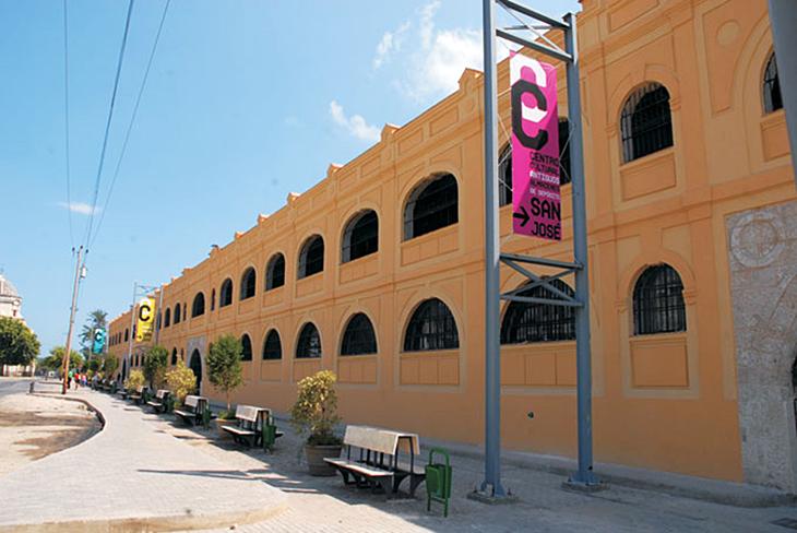 Almacenes de San José market in Havana, Cuba. Photo by the City of Havana