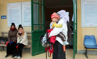 A medical center in Muong Ang District in northwestern Vietnam provides perinatal and HIV services. Photo by Larisa Epatko/PBS NewsHour