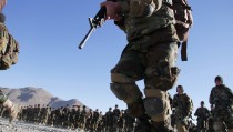 Afghanistan's Spesial Forces' graduation ceremony