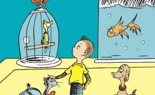 A new Dr. Seuss book, created from a manuscript found in the late author's home, will be published this summer. Image courtesy PRNewsFoto/Random House Children's Books