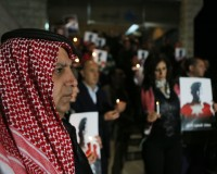 Candlelight Vigil Held For Executed Jordanian Pilot
