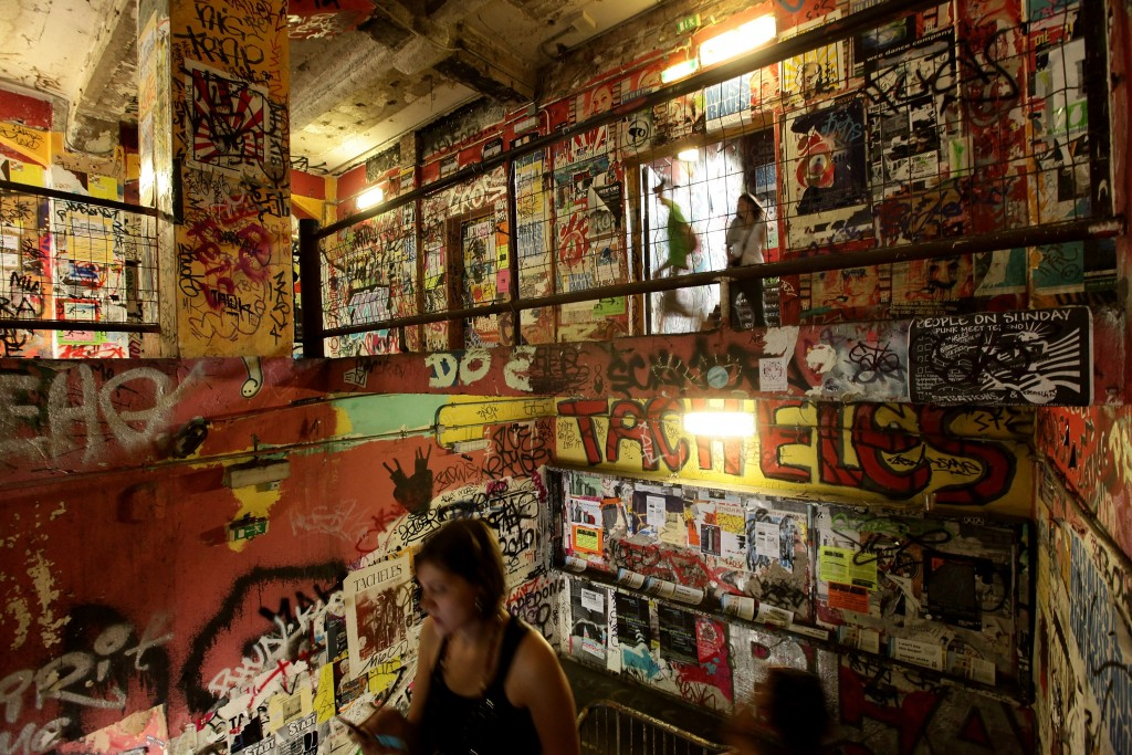 Tacheles Gallery Formed as a squat by artists seeking to save the building from demolition in the 1990s, the Tacheles Gallery in Berlin provides studio and exhibition space for artists while remaining freely open to the public. Photo by Sean Gallup/Getty Images.