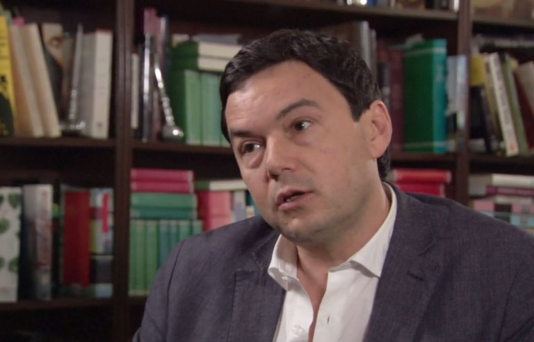"Thomas Piketty, a finalist for the National Book Critics Circle award in nonfiction for ""Capital in the Twenty-First Century,"" speaks to business and economics correspondent Paul Solomon."