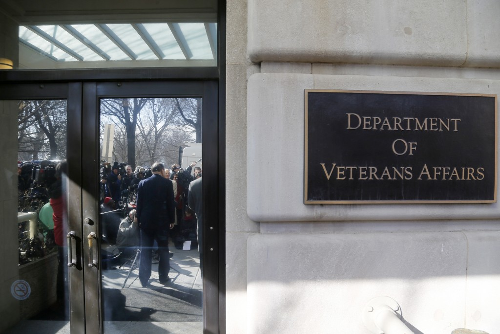 U.S. Department of Veterans Affairs announced Thursday that the agency faces a multi-billion dollar budget shortfall. At the same time, a growing number of veterans have asked for services. Photo by Jonathan Ernst/Reuters