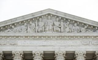 The Supreme Court is pictured in Washington March 9, 2015. Few GOP members of congress or governors have expressed support for same-sex marriage in the upcoming March 28 Supreme Court case. Photo by Joshua Roberts/Reuters
